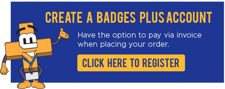 Create a Badges Plus Account