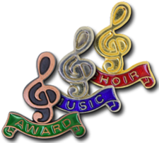 Clef Badges