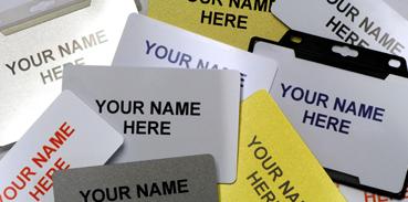 Personalised ID Badges