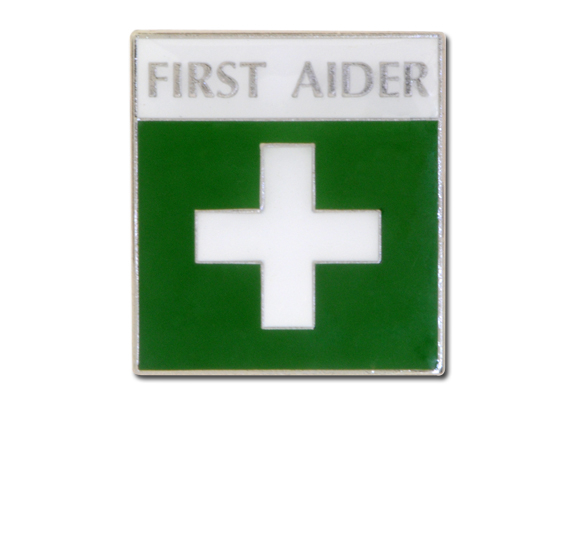 First Aider Unique Badge