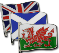 Large Flag Badges