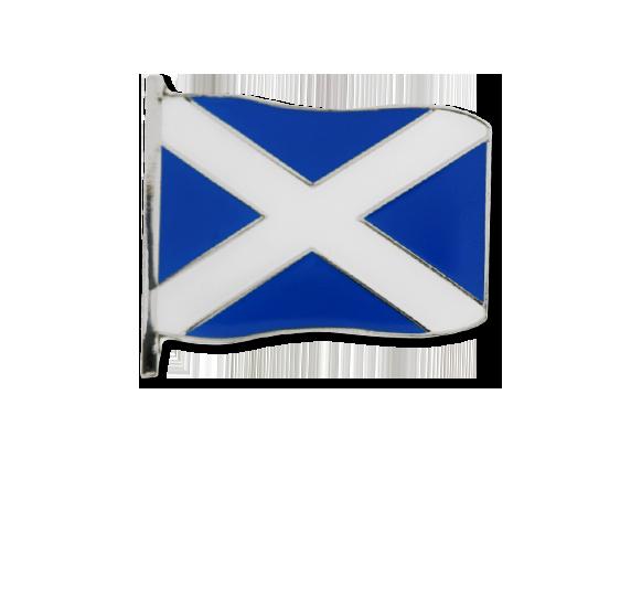 Scotland Large Flag Badge