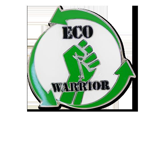 Eco Warrior Unique Badge