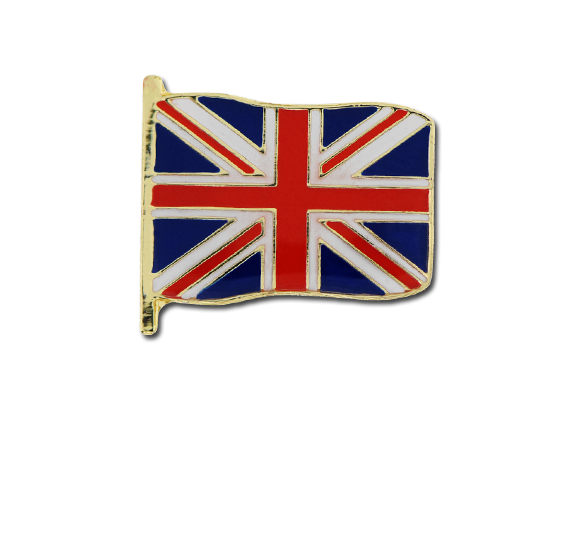 Union Jack Small Flag Badge