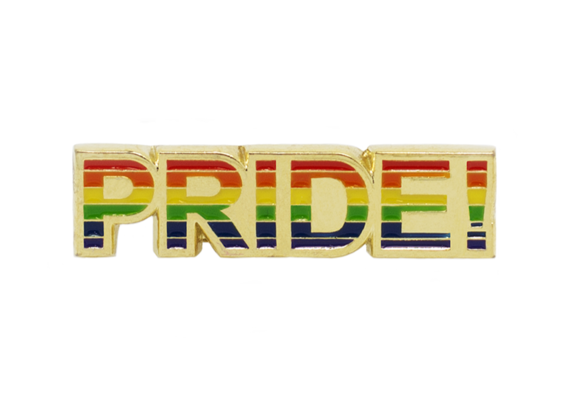 Rainbow Pride, LGBT Enamel Pin Badge