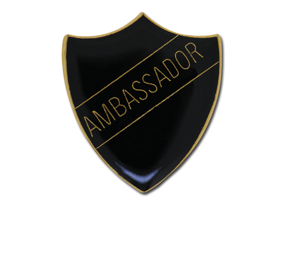 Ambassador Enamelled Shield Badge