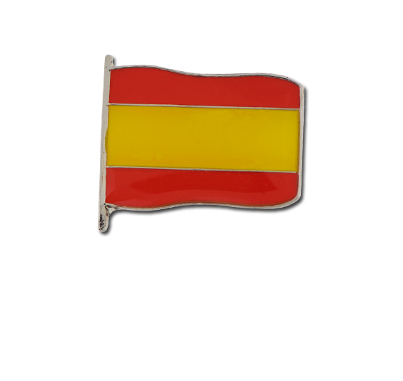 Spain Small Flag Badge