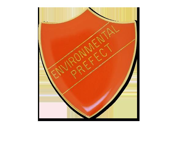 Environmental Prefect Enamelled Shield Badge