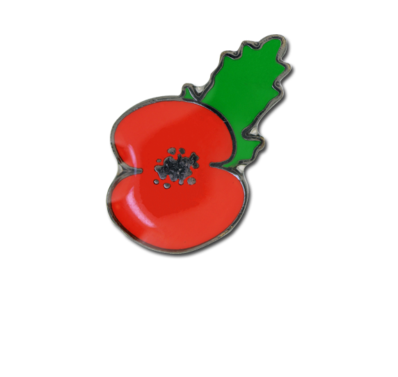 Poppy Fun Badge