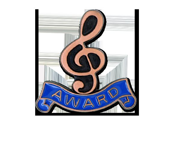 Award - Bronze Clef Badge