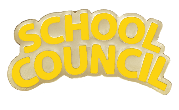 School Council Enamel School Badge