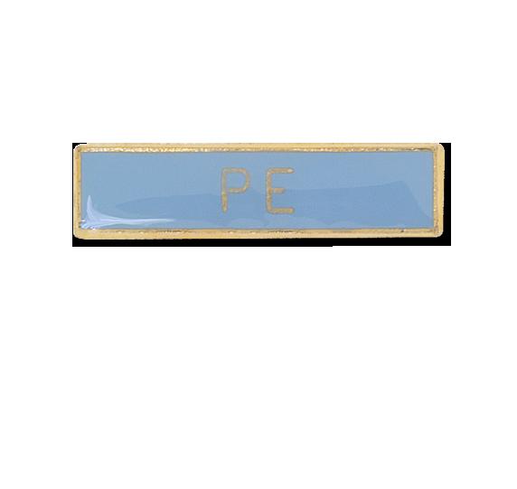 PE Small Bar Badge
