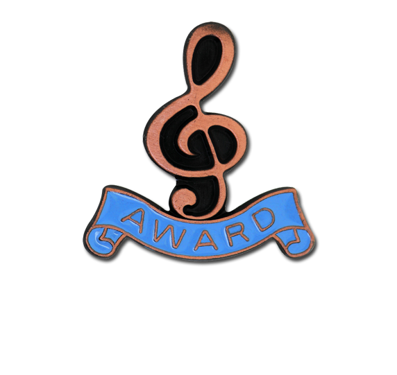 Award - Bronze Clef Badge