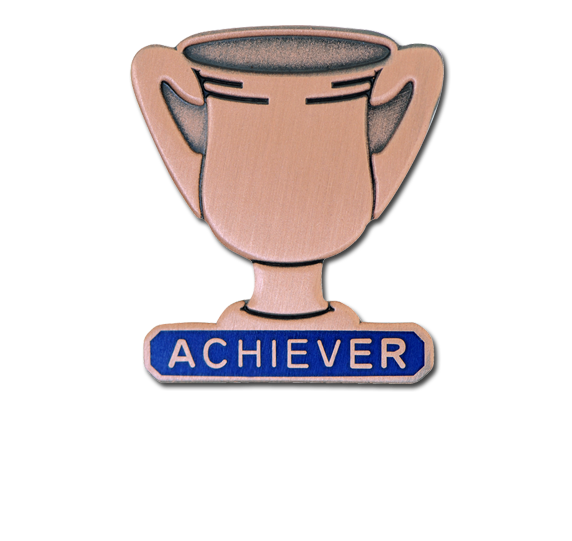 Achiever Trophies - Bronze Trophy Badge