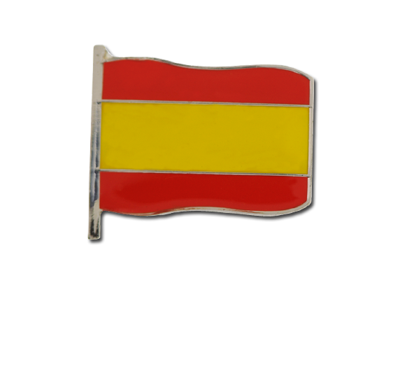 Spain Large Flag Badge