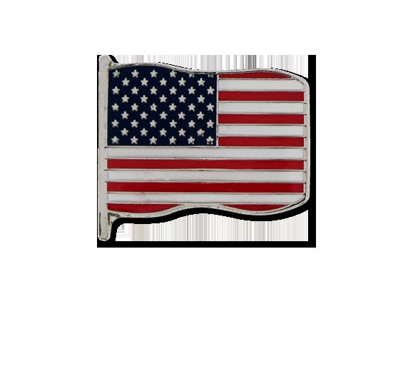 U.S.A. Small Flag Badge