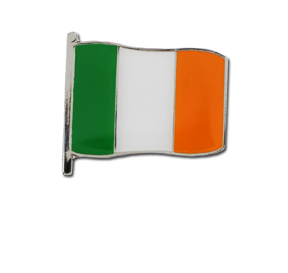Ireland Large Flag Badge