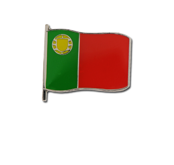 Portuguese Small Flag Badge
