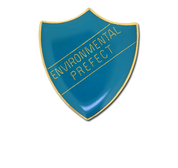 Environmental Prefect Enamelled Shield Badge