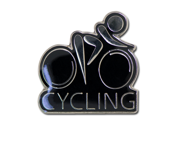Cycling Unique Badge