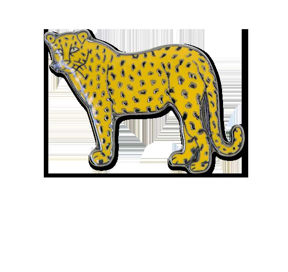 Leopard Fun Badge