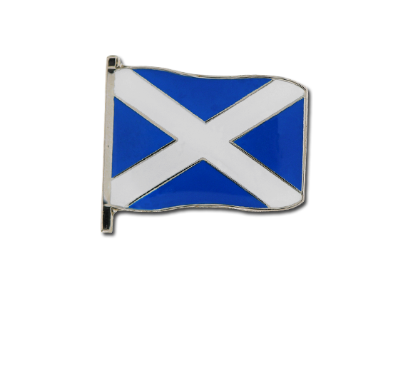 Scotland Small Flag Badge