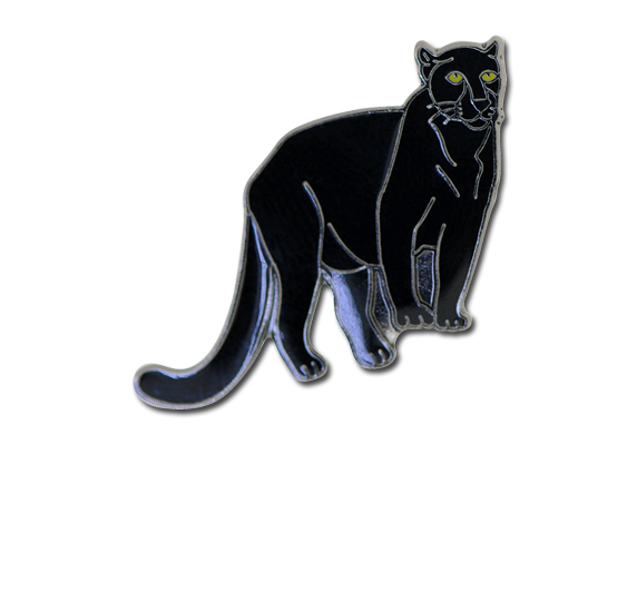 Panther Fun Badge