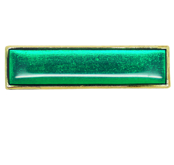 Plain School Squared Edge Bar Badge