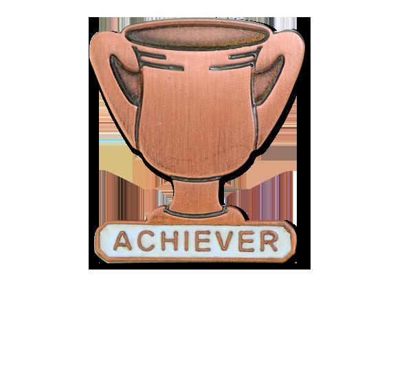 Achiever Trophies - Bronze Trophy Badge