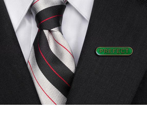 Prefect Rounded Edge Bar Badge