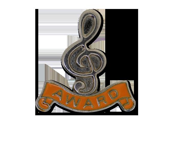 Award - Silver Clef Badge