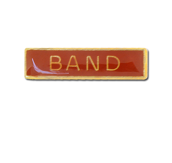 Band Small Bar Badge