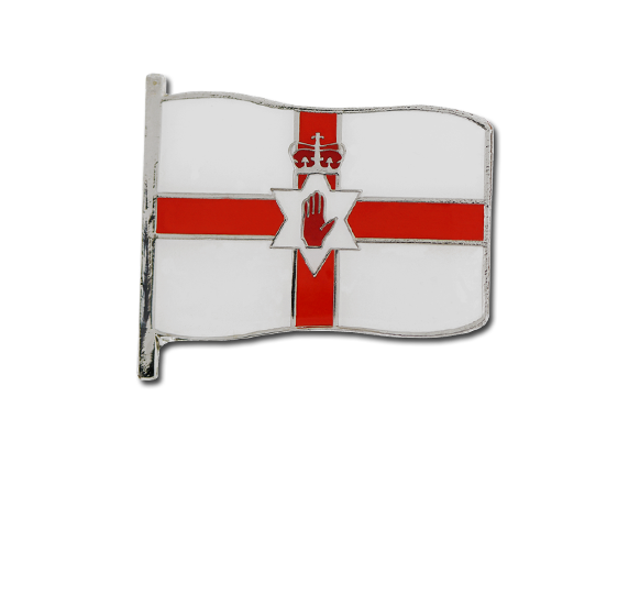 Northern Ireland Large Flag Badge