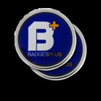 Personalised Silver Circle Cufflinks