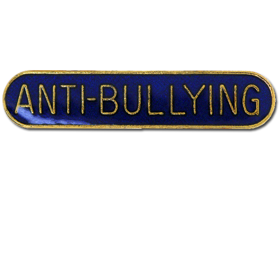 Anti-bullying Rounded Edge Bar Badge