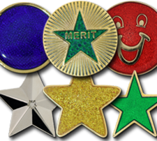 Round & Star Badges