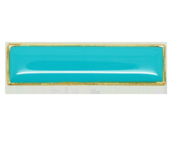 Plain School Squared Edge Bar Badge