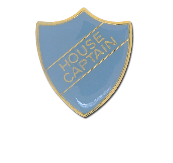 House Captain Enamelled Shield Badge