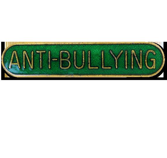 Anti-bullying Rounded Edge Bar Badge