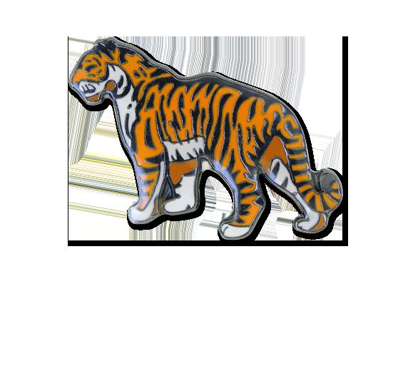 Tiger Fun Badge