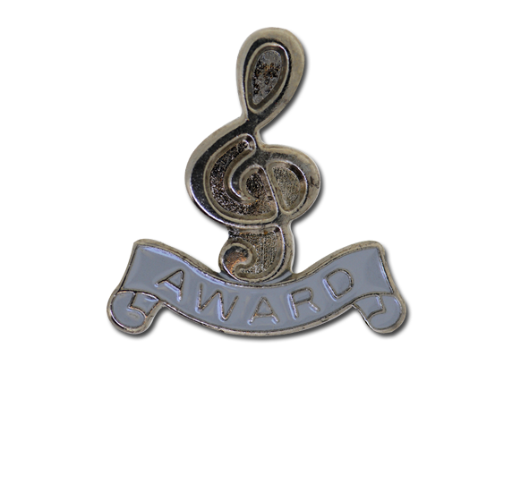 Award - Silver Clef Badge