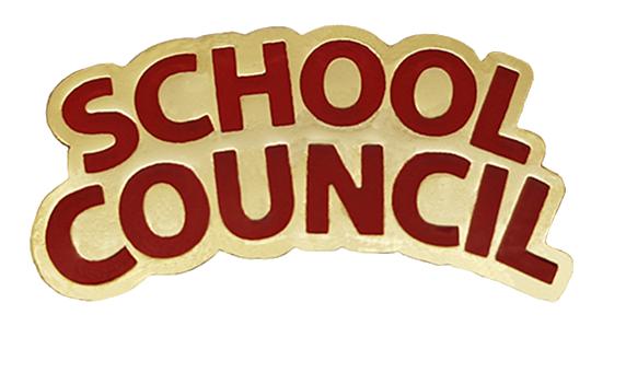 School Council Enamel Badge
