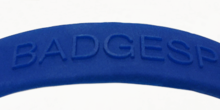 Personalised Embossed Wristbands