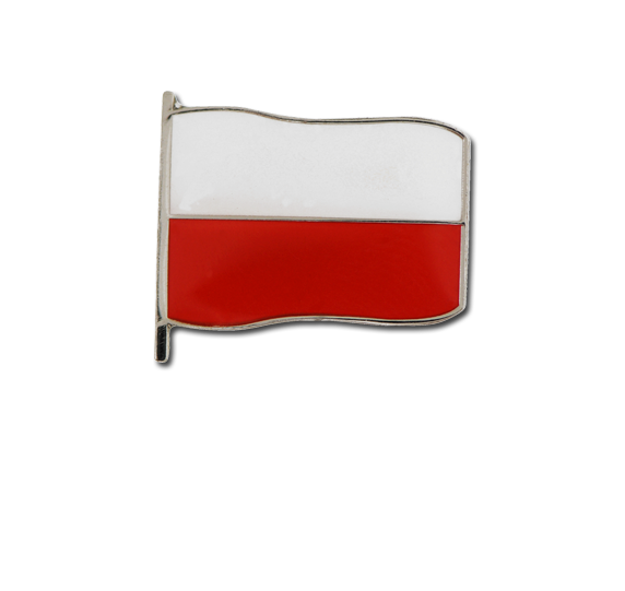 Polish Small Flag Badge