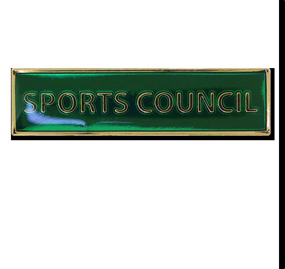 Sports Council Squared Edge Bar Badge