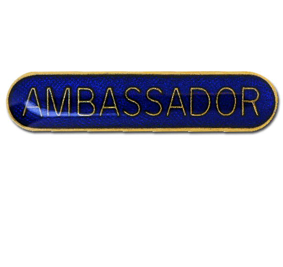 Ambassador Rounded Edge Bar Badge