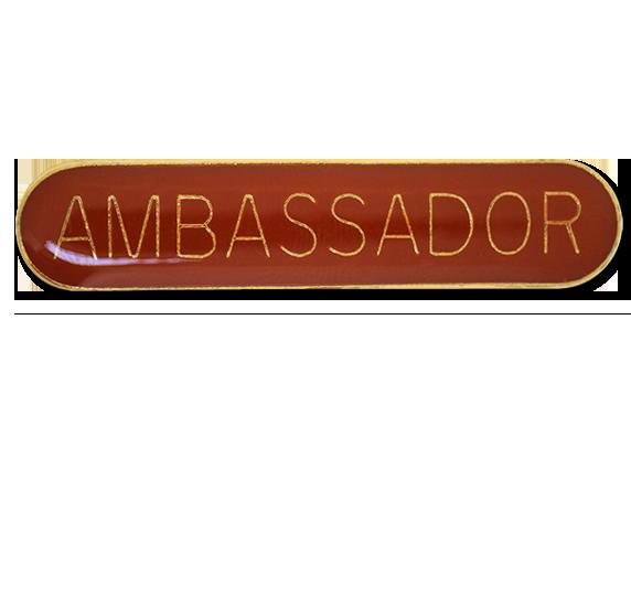 Ambassador Rounded Edge Bar Badge