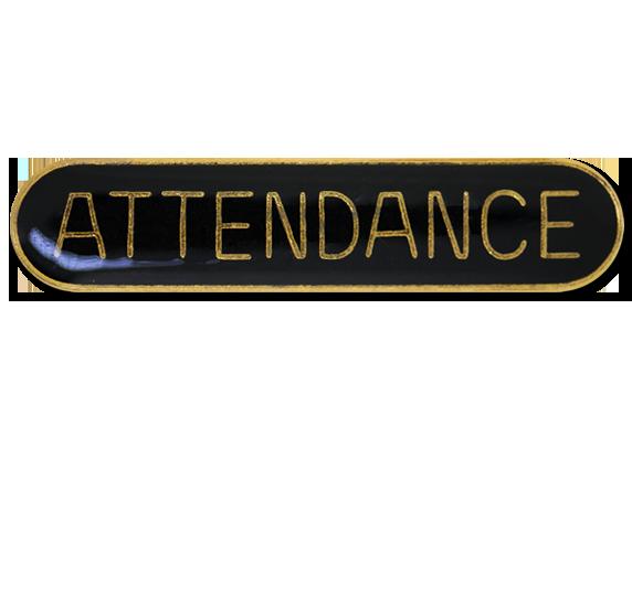 Attendance Rounded Edge Bar Badge