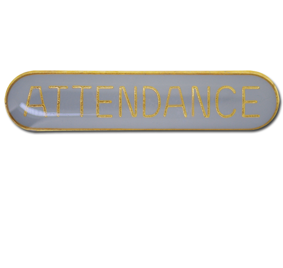Attendance Rounded Edge Bar Badge