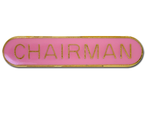 Chairman Rounded Edge Bar Badge